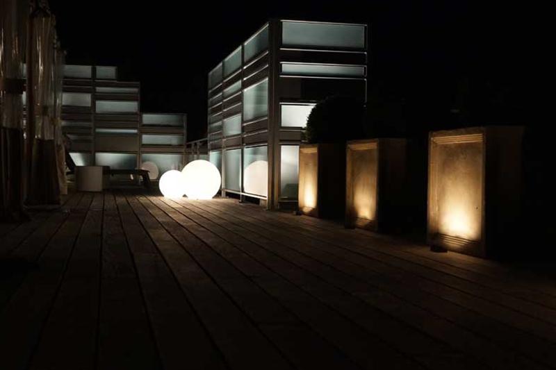 Jardin d'Ombre et de Lumière | Artistic Landscape Lighting
