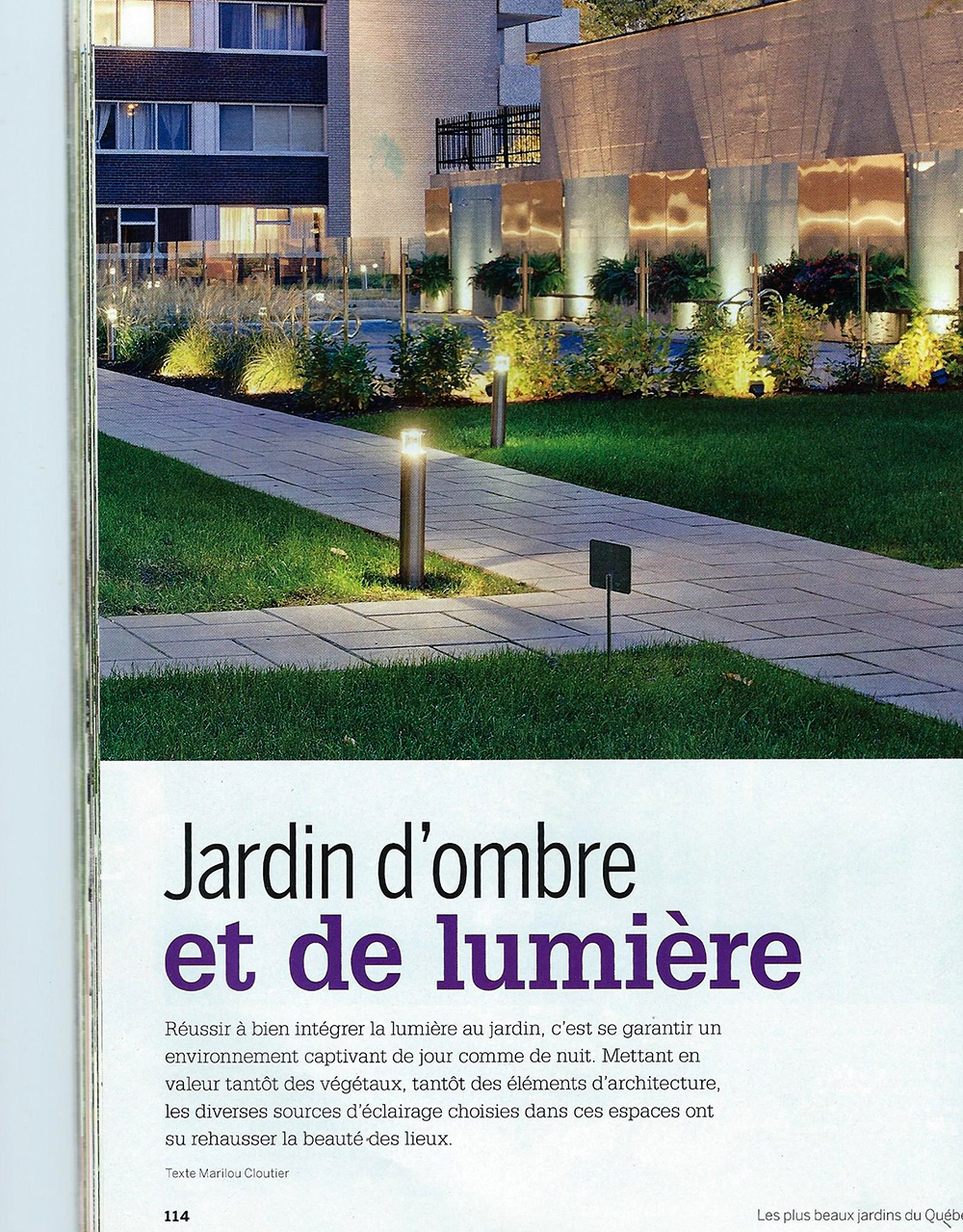 Best jardin ombre et lumiere photos for Jardin ombre et lumiere