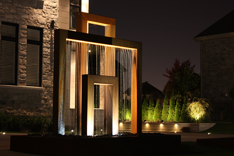 Architectural lighting protecting your home from burglars and intruders is a prime concern of home owners